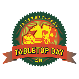 #ITTD2018 – International #Tabletop Day le 28 avril 2018 !